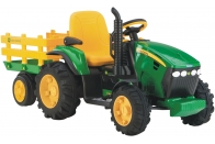 OR0047 Электромобиль Peg-Perego JD Ground Force w/trailer